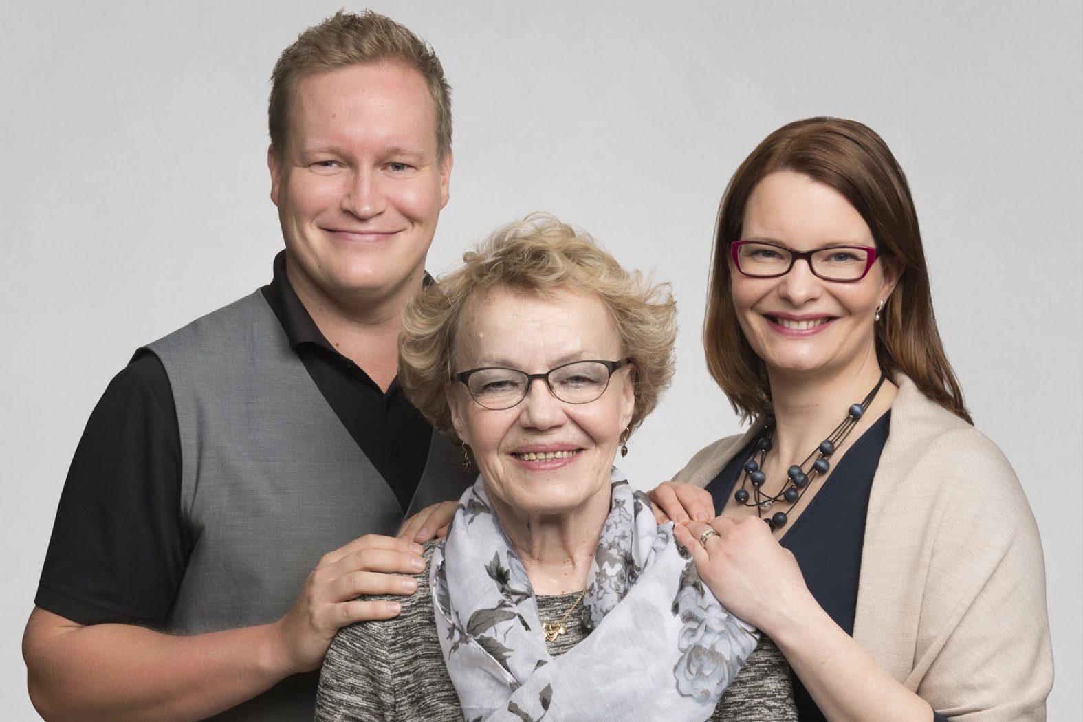 Päiväkumpu: Ville Väätäinen, Irma Väätäinen, Anne Kangas
