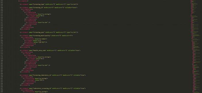 Suomen Syöpäyhdistys XML-schema esimerkki